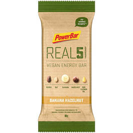 PowerBar Real 5 - Vegan Energy Bar (65g Riegel)