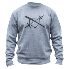 BARBELLS BASEBALL The X Sweatshirt
