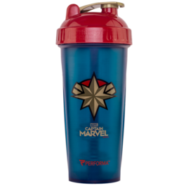 PERFORMA Shaker Hero Series (800ml) - Captain Marvel