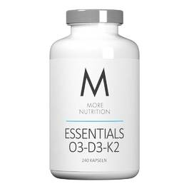 MORE NUTRITION Essentials O3-D3-K2 (240 Kapseln)