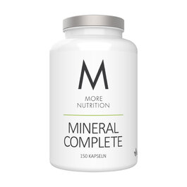 MORE NUTRITION Mineral Complete | Monats-Packung (150 Kapseln)