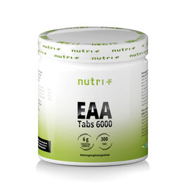 Nutri+ Vegan Sports EAA Mega Tabs 6000 (300 Tabletten)