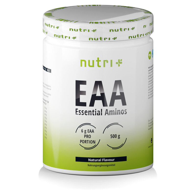 Nutri+ Veganes EAA Instant Pulver - Neutral