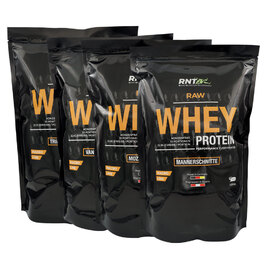 RAWO Raw Whey (4x1000g) | Sparbundle