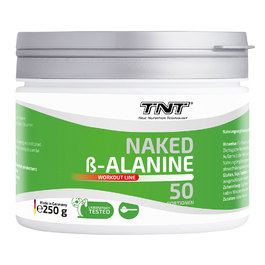 TNT Naked Beta-Alanin Pulver (250g)