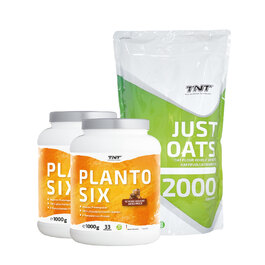 TNT Planto Six Doppelpack + TNT Just Oats (2kg) | veganes Sparbundle