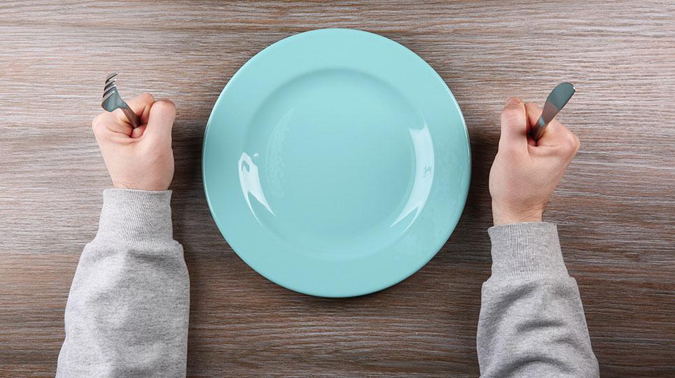 Muss man hungern um abzunehmen